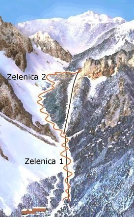 Trzic Piste / Trail Map