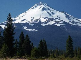 Mt Shasta photo